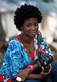 """Ivory Coast Fashion Photographer Joanna Choumali (pictured here) - Funky Fashions - African Designers & Models - Funk Gumbo Radio: http://www.live365.com/stations/sirhobson and """"Like"""" us at: https://www.facebook.com/FUNKGUMBORADIO"""