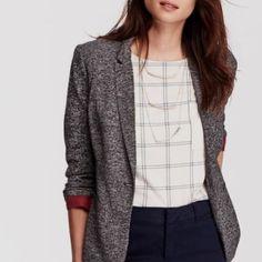 NEVER WORN Old Navy Heather Grey Jersey Blazer Brand new! Old Navy Jackets & Coats Blazers