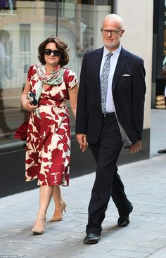 Sylvana, Countess of St Andrews, and George, Earl of St Andrews attend the private party hosted by Queen Elizabeth II prior to the Royal family going to Balmoral. July 19 2016