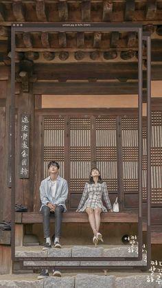 Korean Drama Movies, Korean Actors, Boy And Girl Friendship, The Flowers Of Evil, Weightlifting Fairy Kim Bok Joo, Korean Couple, Ulzzang Couple, Korean Art, Couple Aesthetic