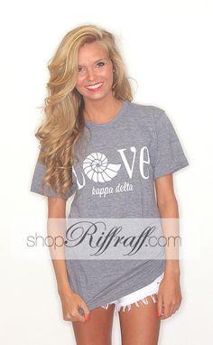 Riffraff Kappa Delta Nautilus T-Shirt