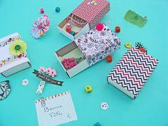 DIY tuto Mini boîtes pour petits cadeaux handmade