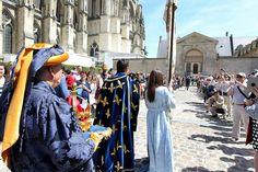 Les fêtes johanniques célèbrent chaque année le sacre du roi Charles VII.