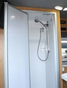 Fibreglass Motorhome Shower suits Mercedes Sprinter/VW Crafter & Similar vans