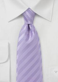 Solid Colored Bright Purple Tie with Satin Finish