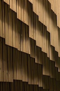 Kengo Kuma creates facade of wooden strips for University of Tokyo computing…