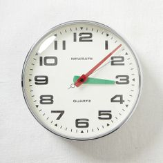 Newgate Brixton Wall Clock   west elm, $135