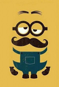 Pin the mustache on the minion