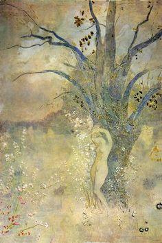 Odilon Redon ~ The Spring