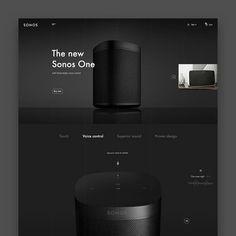 Graphic Design UI UX WebDesign on Instagram: Interface by @ahmed.ebrahim__ Website Design Layout, Homepage Design, Web Layout, Layout Design, Newsletter Design, Minimal Web Design, Presentation Board Design, Product Presentation, Modern Website