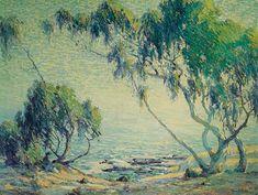 Laguna Beach  by Anna Hills   Giclee Canvas Print Repro Spell of the Sea