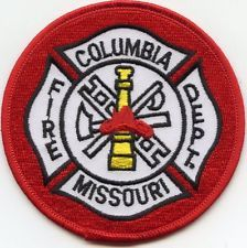COLUMBIA MISSOURI MO FIRE PATCH