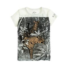 J.Crew - J.Crew for the American Museum of Natural History leopardtee