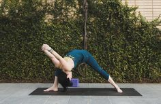 A Yoga Sequence To Harness Your Potential & Activate Your Sacral Chakra: Humble Warrior (Baddha Virabhadrasana)