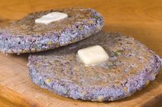 Recipes, Cooking, Cuisine and Gadgets! - Chop Onions, Boil Water - World Food at Home: Recipe: Nokake (Native American Blue Corn Cakes) Corn Recipes, Italian Recipes, Mexican Food Recipes, Blue Cornmeal, American Corn, American Indians, Native Foods, Corn Cakes, Gourmet