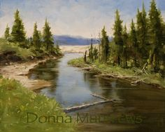 Oil Painting by Donna Munn