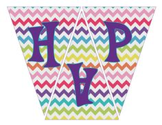 "INSTANT DOWNLOAD- My Little Pony Rainbow ""Happy Birthday"" Banner (My Little Pony Party Pack)"