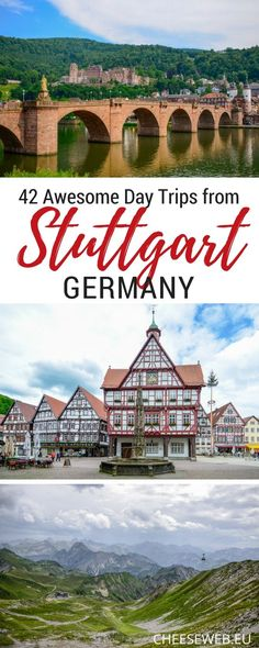 Adi shares her top 42 ultimate day trips from Stuttgart, Germany, filled with picturesque villages, food, castles, nature, and family fun. Find all the best things to do near Stuttgart in Germany and beyond. germany travel things to do in germany