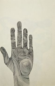 Michelle Fay | Hand | ink drawing | 2012