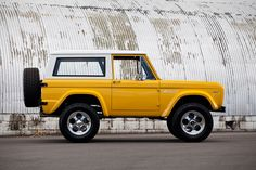 1969 #Ford #Bronco from #Kindig It #Design. #Classic #Cool #Truck #OffRoad #Adventure #Fun