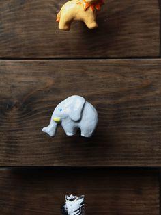 elephant knob costumizable knob for safari nursery by gumcrackkids