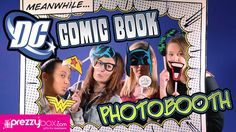 DC Comic Photo Booth - Channel Your Favourite Hero or Villain! Superhero Gifts, Superhero Characters, Comic Book Heroes, For Everyone, Photo Booth, Your Favorite, Dc Comics, Channel, Childhood