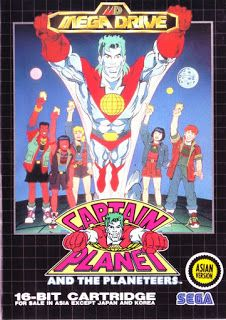 Emularoms: Captain Planet and the Planeteers (BR) [ SMD ]