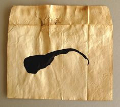 Altered envelope, 2009-2012 Collage Drawing, Paper Artist, Envelope, Painting, Envelopes, Painting Art, Paintings, Painted Canvas, Drawings