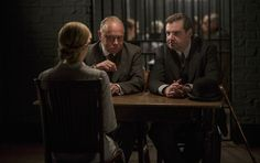 Joanne Froggatt as Anna & Brendan Coyle as Mr Bates in Downton Abbey Christmas special