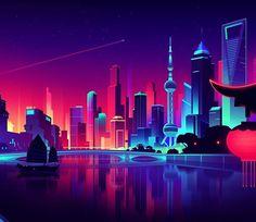 Shanghai by Romain Trystram
