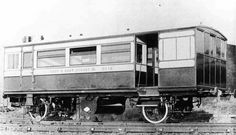 Pickering Steam Railcar photo 1. Pacers, edwardian style!