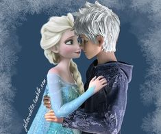 Frozen Elsa and Jack Frost New Episodes Disney Princess Compilation Game. Jelsa, Jack Y Elsa, Jack Frost And Elsa, Frozen Love, Elsa Frozen, Frozen Disney, Disney Couples, Cute Couples, Dragons