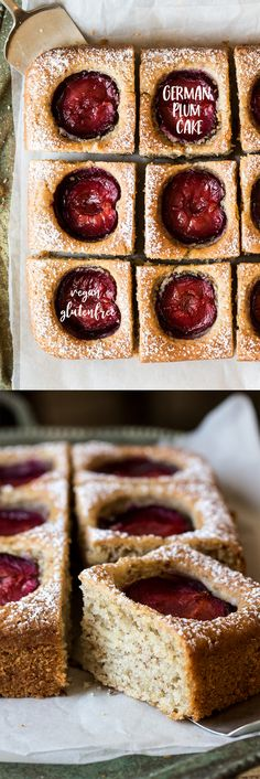 Vegan german plum cake baking with protein powder 8 easy recipes to try Brunch Recipes, Sweet Recipes, Cake Recipes, Dessert Recipes, Plum Recipes Gluten Free, Plum Recipes Healthy, Brunch Ideas, Vegan Recipes, Dessert Party