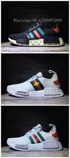 d0681bdf0dc2 Adidas NMD Gucci Unisex shoes 36~45 WhatsApp 86 13328373859 WeChat e2shoes  Tenis