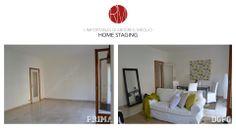 #AbitareIlMeglio. Interior deisign e arredamento di un soggiorno: l' #HomeStaging cambia faccia al tuo immobile! http://www.rossomattone.eu/Home_Staging-p25.html