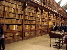 View of the National library of Brera in Milan, Italy. Picture by Giovanni Dall'Orto