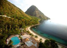 Sugar Beach - Santa Lucia, Caribbean - https://youtu.be/RT0i_2ez3Tg - https://youtu.be/Pw1vh41UZ6s