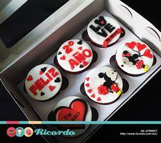 Resultado de imagen para cupcakes aniversario enamorados