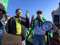 Protesto em Boston - 2016