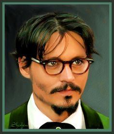 Johnny Depp by Shahin Art