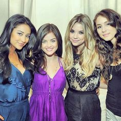 Shay Mitchell, Lucy Hale, Ashley Benson, and Troian Bellisario.