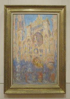 (via All sizes | 1894 Claude Monet La Cattedrale di Rouen,effetto sole alla fine del giorno(Marmottan) | Flickr - Photo Sharing!)