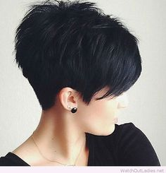 Awesome black pixie                                                       …