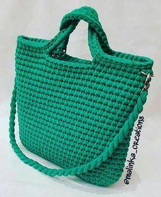 Discover thousands of images about Rope bag / Unique design Bag from rope / Handmade crochet bag / market bag… Crochet Clutch, Crochet Handbags, Crochet Purses, Bead Crochet, Diy Crochet, Crochet Bags, Pinterest Crochet, Yarn Bag, Basket Bag