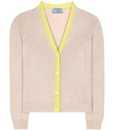 PRADA Cashmere Cardigan. #prada #cloth #cardigan