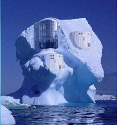 iceburg house