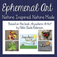Outdoor Art: Nature Inspired, Nature Made by The Art of Education Ephemeral Art, Outdoor Education, Environmental Education, Autumn Art, Outdoor Art, Art Nature, Nature Inspired, Art Activities, Critical Thinking