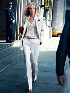 Street Style to Casual Fashion Mode, Office Fashion, Work Fashion, Womens Fashion, Fashion Trends, Fashion Bloggers, Style Fashion, Fashion Outfits, Business Outfit Frau