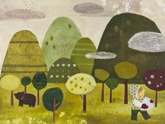 Mique Moriuchi by Into The Woods May 2011, via Behance
