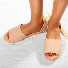 Platform Lace-up Summer Sandal Women's Espadrilles, Espadrille Sandals, Women's Sandals, Martin Boots, Southern Belle, Crazy Shoes, Chic Outfits, Dress Shoes, Lace Up